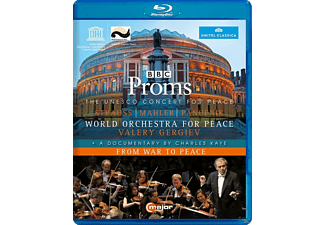 Gergiev & World Orchestra For Peace - Unesco Concert For Peace/From War To Peace [Blu-ray]