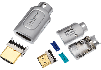 IN AKUSTIK Profi High Speed HDMI Stecker IDC bulk  HDMI Stecker/Kabel