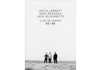 VARIOUS - Keith Jarrett Trio - Live In Japan 93 / 96 - (DVD)