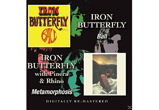 Iron Butterfly - Ball/Metamorphosis - (CD)