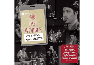 Jah Wobble - Access All Areas - (CD + DVD)