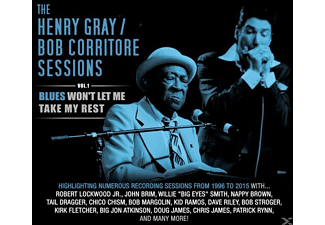 Gray,Henry  & Corritore,Bob - Blues Won't Let Me Take My Rest Vol.1 - (CD)