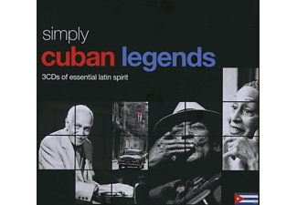 VARIOUS - Simply Cuban Legends (3cd Tin) - (CD)