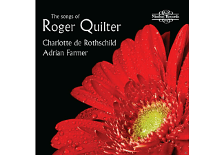 Adrian Farmer, VARIOUS, Charlotte De Rothschild - The Songs Of Roger Quilter [CD]