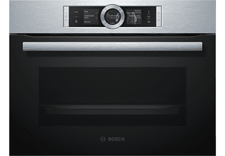 bosch backofen mit dampfgarfunktion csg636bs1 einbauger t mediamarkt. Black Bedroom Furniture Sets. Home Design Ideas