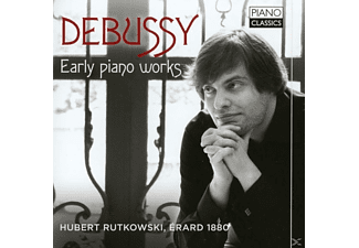 Hubert Rutkowski, VARIOUS - Debussy:Early Piano Works - (CD)