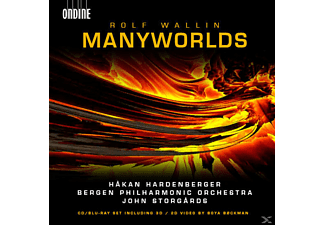 Hakan Hardenberger, Bergen Philharmonic Orchestra - Manyworlds/Fisher King/Id - (CD + Blu-ray Audio)