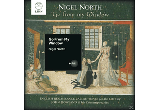 Nigel North (barocklt) - Go From My Window [CD]
