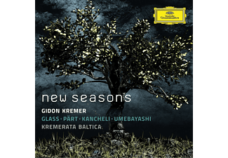 Gidon Kremer, Kremerata Baltica - New Seasons [CD]