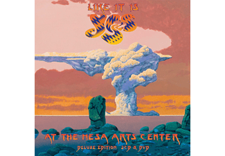 Yes - Like It Is-Yes At The Mesa Arts Center (Deluxe Edition) - (CD + DVD)