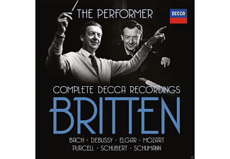 VARIOUS, English Chamber Orchestra, Wandsworth School Boy's Choir - Britten: The Performer (Limited Edition) [CD]
