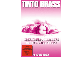 Tinto Brass - 4 DVD-Box [DVD]