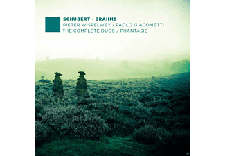 Pieter Wispelwey, Paolo Giacometti - Schubert/Brahms: The Complete Duos - Phantasie - (CD)