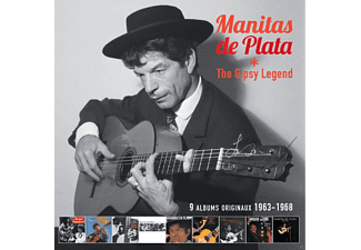 Manitas De Plata - The Gypsy Legends - (CD)