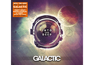 Galactic, VARIOUS - Into The Deep - (CD)