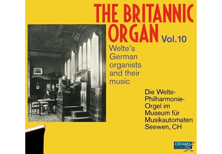 Various - THE BRITANNIC ORGAN VOL.10 [CD]