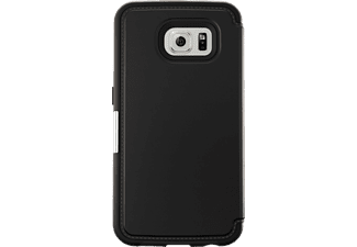 OTTERBOX 77-51739 Strada, Samsung, Bookcover, Galaxy S6, Leder (Obermaterial), Polycarbonat, Schwarz