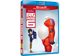 Big Hero 6 Familj Blu-ray 3D