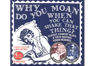 Papa Charlie Jackson, Bo Weavil Jackson - Why Do You Moan When You Can Shake That Thing - (CD)