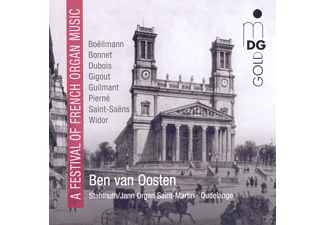 Ben Van Oosten - A Festival of French Organ Music - (CD)