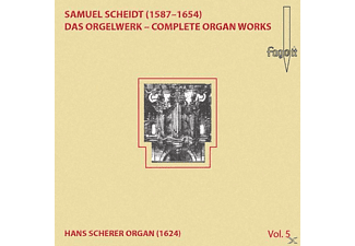 Lehmann Christoph - Scheidt: Das Orgelwerk - Complete Organ Works Vol. 5 - (CD)