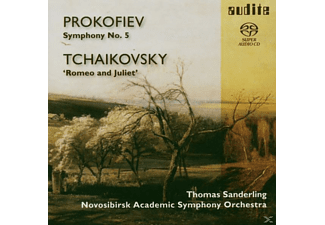 Sanderling, T./Novosibirsk Academic So Sanderling - Sinfonie 5/Romeo & Julia - (SACD Hybrid)