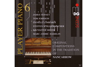 VARIOUS - PLAYER PIANO VOL. 6 - (CD)