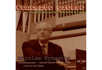 Nicolas Kynaston - Concerto Grosso - (CD)
