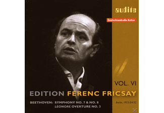 VARIOUS, Ferenc Riasso & Fricsay - Sinfonien 7 &.8/Leonoren-Ouvertüre 3 - (CD)