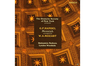 Sinfonia Rubinstein - Messiah (Arr.Mozart) - (CD)
