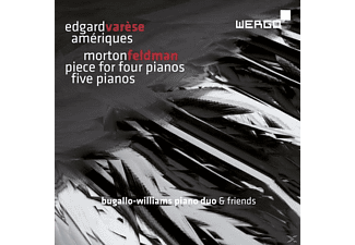 Williams Piano Duo - Ameriques/Piece For Four Pianos/Five Pia - (CD)