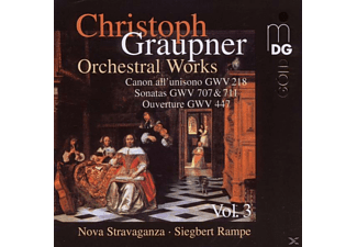 Nova Stravaganza - Orchestral Works, Vol. 3 - (CD)