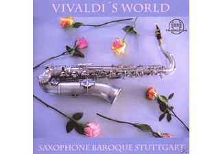 Saxophone Baroque Stuttgart - Vivaldi's World - (CD)