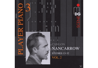 Conlon (1912-1997) Nancarrow - PLAYER PIANO 1 VOL. 2 - (CD)