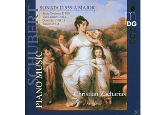 Zacharias Christian - SONATA D959 A MAJOR/DANCES - (CD)