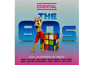VARIOUS - ESSENTIAL 80S-CLASSIC EIGHTIES POP AND ROCK HITS - (CD)
