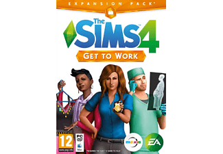 EA The Sims 4 Get To Work PC