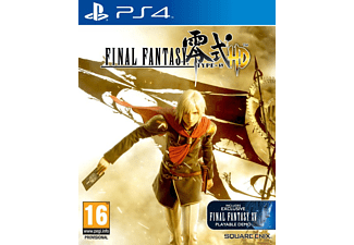 ARAL Final Fantasy Type-0 HD PS4