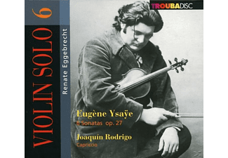 Renate Eggebrecht - Violin solo vol.6 - (CD)