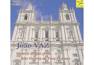Joao Vaz - Historic Organ Sao Vicente de Fora - (CD)