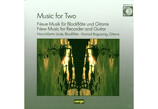 Hans-martin Linde, Hans-martin Linde - Konrad Ragossnig - Music for Two - (CD)
