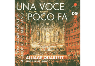 Jang Eun/alliage Quartett Bae, Alliage Quartett) - Una Voce Poco Fa - (CD)