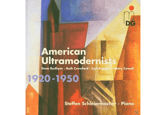 Steffen Schleiermacher - American Ultramodernists - (CD)