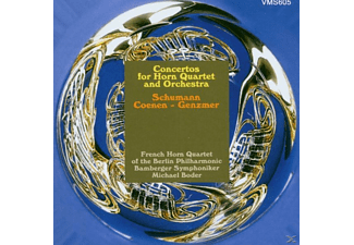 Bp - Concertos For Horn Quartet [CD]