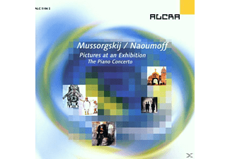 Dso Berlin, Blaschkow, Naoumoff - Pictures At An Exhibition-Klavier Konzert - (CD)