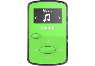 SANDISK SanDisk Clip Jam Mp3-Player (8 GB, Grün)