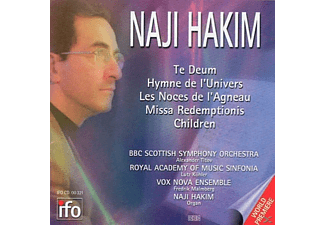 VOX NOVA ENSEMBLE/BBC SCOTTISH SYMP, Naji Hakim - Te Deum/Hymne De L Univers/Missa Redemptionis/+ - (CD)