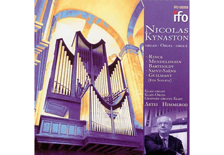 Nicholas Kynaston - Nicolas Kynaston - (CD)