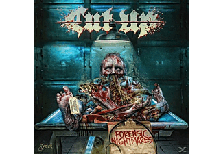 Cut Up - Forensic Nightmares - (CD)