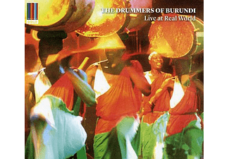 The Drummers Of Burundi - Live at Real World (CD)